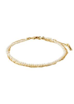 PILGRIM Native Beauty Bracelet Gold-Plated  by Pilgrim