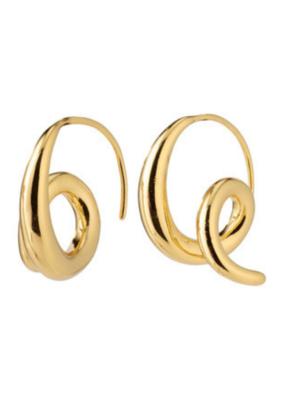 PILGRIM Angel Earrings Gold-Plated by Pilgrim