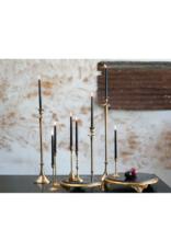 """Antique Gold Candlestick LRG 2.25"""" x 10.25"""""""