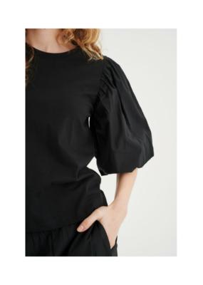 InWear Ume T-shirt in Black by InWear