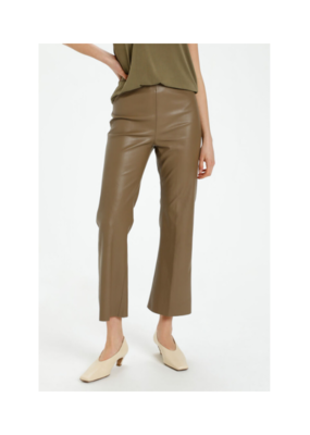 Soaked in Luxury Kaylee Kickflare Pant in Chocolate by Soaked in Luxury