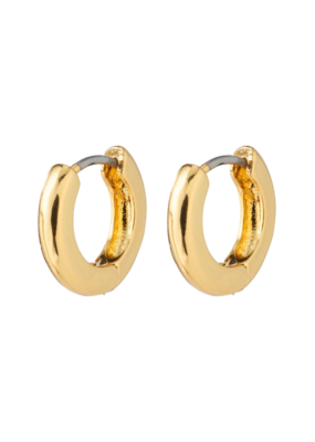 Francis Earrings Gold-Plated by Pilgrim