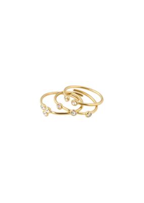 PILGRIM Kamari Ring Gold-Plated by Pilgrim