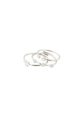 PILGRIM Kamari Ring Silver-Plated by Pilgrim