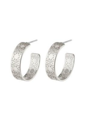PILGRIM Carol Earrings Silver-Plated by Pilgrim