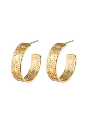 PILGRIM Carol Earrings Gold-Plated by Pilgrim