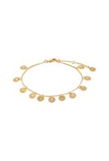 PILGRIM Carol Bracelet Gold-Plated by Pilgrim