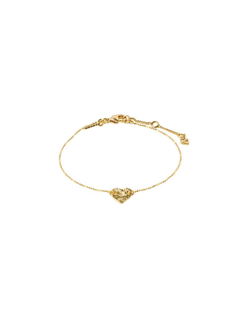 PILGRIM Sophia Bracelet Gold-Plated by Pilgrim