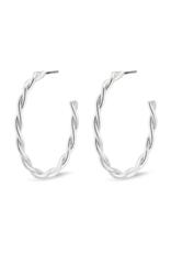 PILGRIM Naja Earrings Silver-Plated by Pilgrim