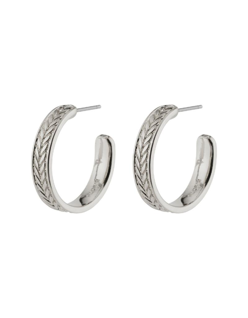PILGRIM Legacy Earring Silver-Plated by Pilgrim
