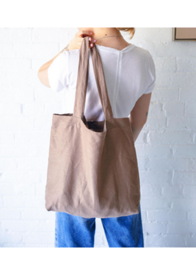 Everyday Linen Totebag in Clay by Dreams Jumper