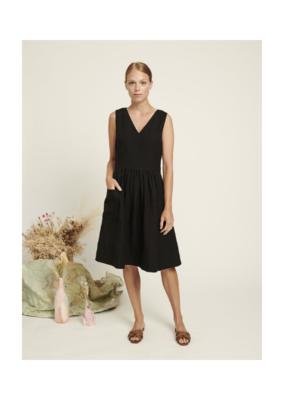 naif Polly Dress Black  by naïf