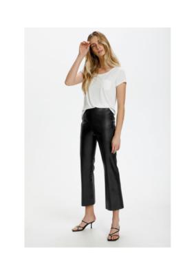 Soaked in Luxury Kaylee Kickflare Pant in Black by Soaked in Luxury
