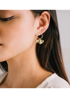 Lover's Tempo Contour Drop Earrings by Lover's Tempo