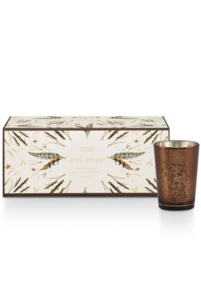 Illume Woodfire Candle Noble Holiday Gift Set