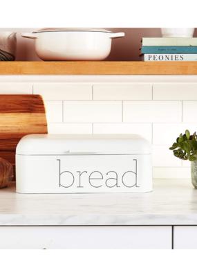 Bloomingville White Metal Bread Bin