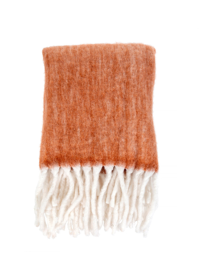 Indaba Trading Fireside Cozy Throw in Sienna