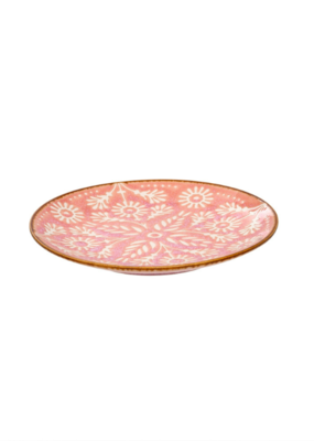 Indaba Trading Hibiscus Breakfast Plate