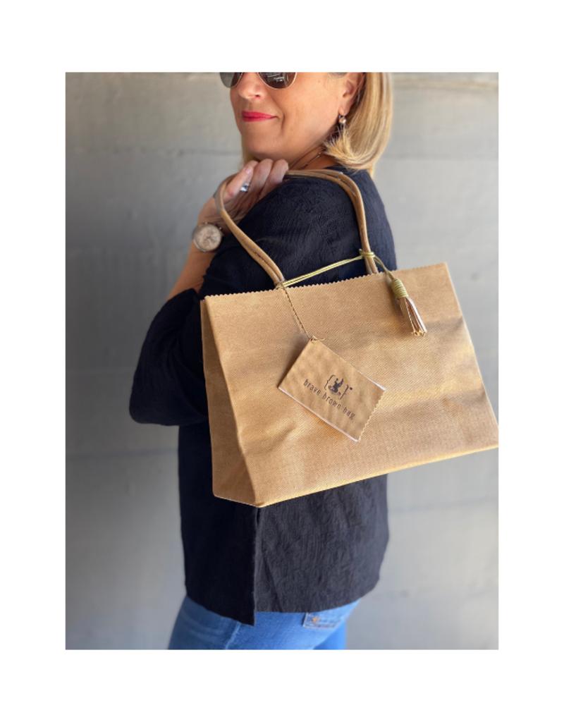 Brave Brown Bag Shopper Madi in Tabac by Brave Brown Bag