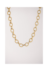 Lover's Tempo Rose Necklace Gold by Lover's Tempo
