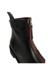 Bueno Gable Boot in Black & Red by Bueno