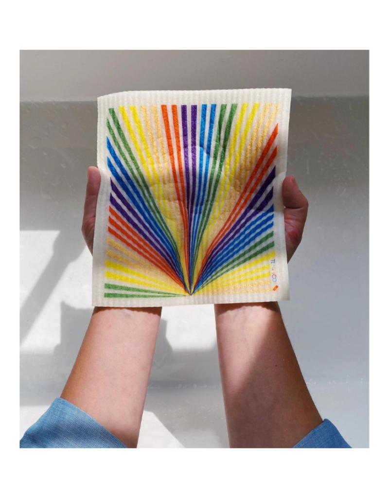 Ten & Co. Swedish Sponge Cloth  Pride