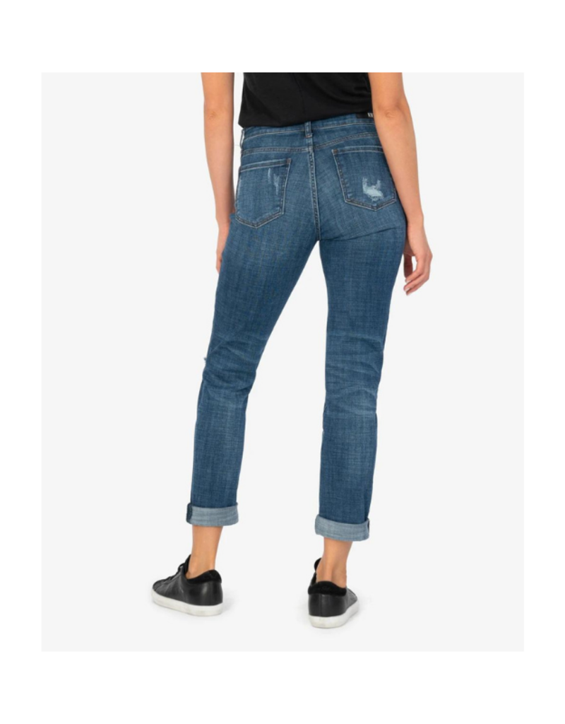 Kut from the Kloth Catherine Mid Rise Boyfriend in Spree Wash by Kut from the Kloth