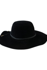 San Diego Hats Faux Suede Floppy Hat in Black by San Diego Hat Company
