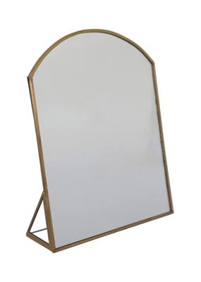 Brass Metal Framed Standing Mirror