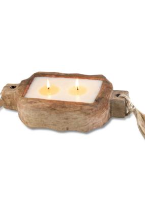 himalayan trading post Grapefruit Pine Driftwood Tray 24oz by Himalayan Handmade Candle