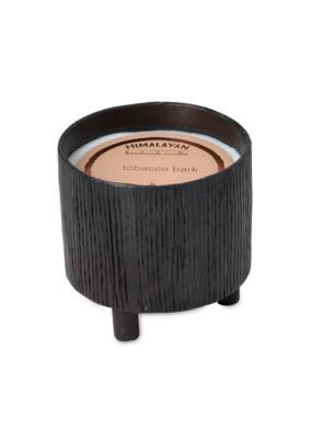 himalayan trading post Tobacco Bark Blacksmith Bowl Footed by Himalayan Handmade Candle