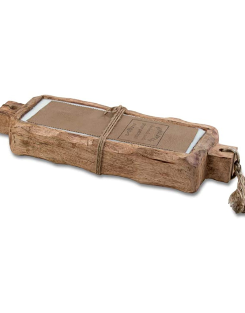 himalayan trading post Sunlight In The Forest Large Driftwood Candle Tray 44oz by Himalayan Handmade Candle