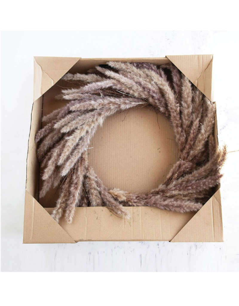 Dried Natural Reed Wreath