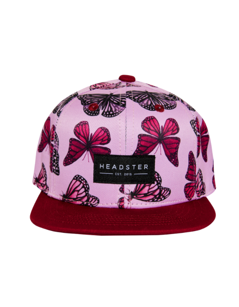 HEADSTER Butterfly High Pink Hat by Headster