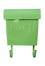 Euro Post Mailbox in Green