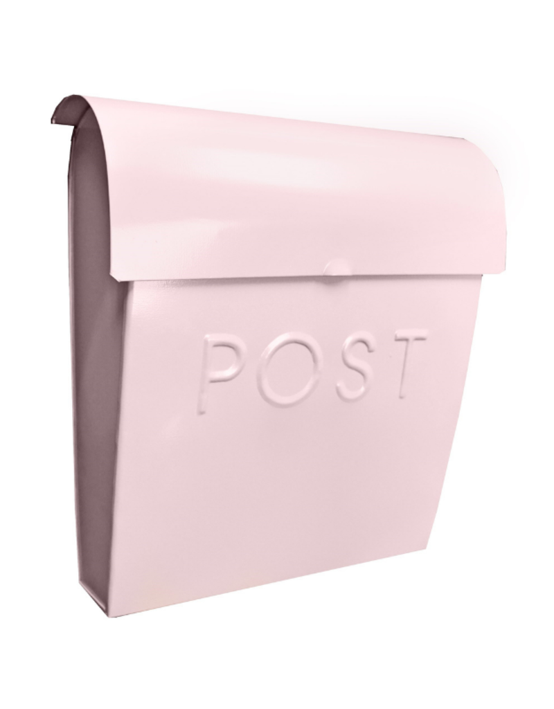Euro Post Mailbox in Pink