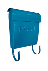 Euro Post Mailbox in Turquoise