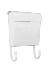 Euro Post Mailbox in White