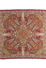 Fraas Kaleido Queen Silk Scarf Fuchsia