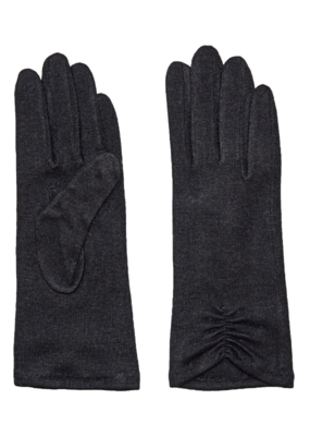 Fraas Solid Knit Tech Glove in Black
