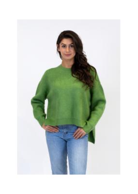 Lyla & Luxe Emma Ribbed Sweater in Green by Lyla & Luxe