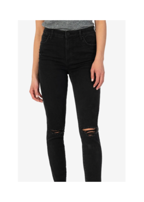 Kut from the Kloth Connie High Rise Fab Ab Slim Fit Ankle Skinny in Prospective Wash by Kut from the Kloth