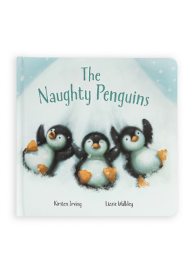 Jellycat Jellycat The Naughty Penguins Book