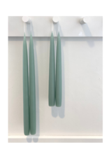 Twilight Taper Candle Set of 2 Teal
