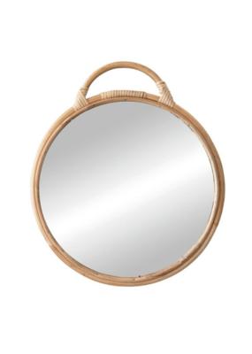 Bloomingville Round Rattan Natural Mirror