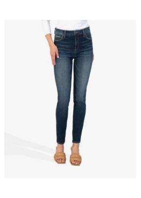 Kut from the Kloth Mia High Rise Fab Ab Repreve in Legacy Wash by Kut from the Kloth