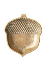 Brass Metal Acorn Tray