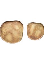 Brass Metal Organic Shape Tray