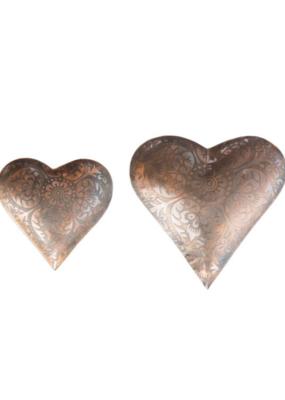 Metal Heart Tray