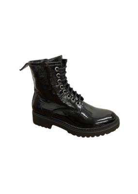 Bueno Destiny Victor Patent Boot in Black by Bueno